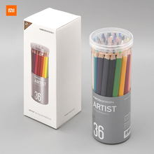 36pcs/lot Xiaomi Youpin KACO Art Color 36 Pencil Bright Colors Thick Lead Core Not Easy To Break Fine Brush Strokes
