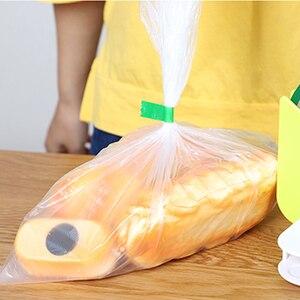 1 шт. упаковка уплотнительная лента длиной 40 м зеленый/красный свежий пакет уплотнительная лента растительная классификация лента Cinta de sellado для упаковщика сумок