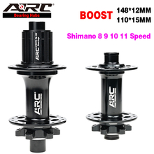 ARC Fitness Riding Cycling Bike Hub MTB Hub Boost Hub 11 Speed Disc Brake 15x110mm 12x148mm 4 Bearing Hub Bicycle Hub Wheel Part цена 2017