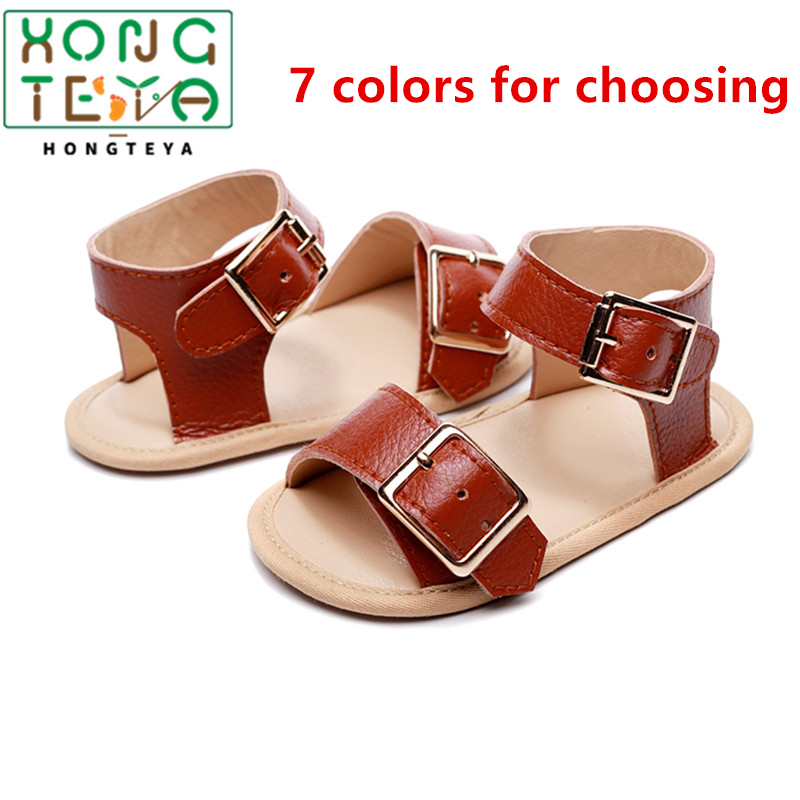 2020 Summer Baby Shoes Soft Hard Sole For Girls Boys Newborn Princess Baby Girl Shoes PU Leather Material Baby Moccasins Shoes