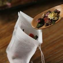 500/1000 Pcs Usa E Getta Bustine di Tè Bustine di Tè Vuote con Stringa di Guarire Sacchetto di Tenuta per il Tè Sacchetti di tessuto Non tessuto Tessuto bustine di carta Tè, Articoli E Attrezzature
