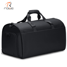 Rowe New Men Carry On Suit Garment Bag Multi Function Large