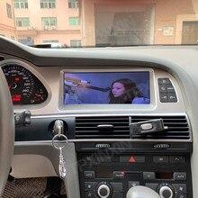 אנדרואיד 10 8G + 128 Carplay לאאודי A6 2005 2012 רכב נגן DVD GPS ניווט אוטומטי סטריאו מולטימדיה נגן ראש יחידת רדיו קלטת