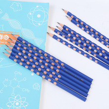 60PCS Wood Pencil Students Use HB Writing Triangle penholder Sketch Children Drawing pencil Art Stationery Office School