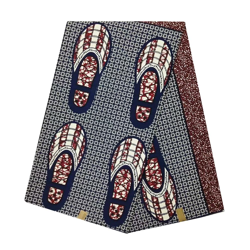 African Wax Fabrics Cotton Veritable Wax High Quality Netherlands Ankara Fabric African Real Wax Print Materials Holland