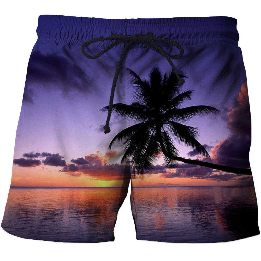 Summer Beach Design Surfing Shorts Mens Summer Casual Swiming Shorts Men Beach Shorts Homme Board Shorts Drop Ship
