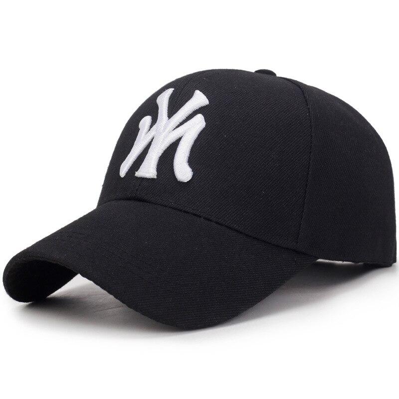 Letter MY Embroidery Baseball Caps Fashion Women Man Summer Adjustable Hat Unisex High Quality Visor Cotton Snapback Hat BAG4194