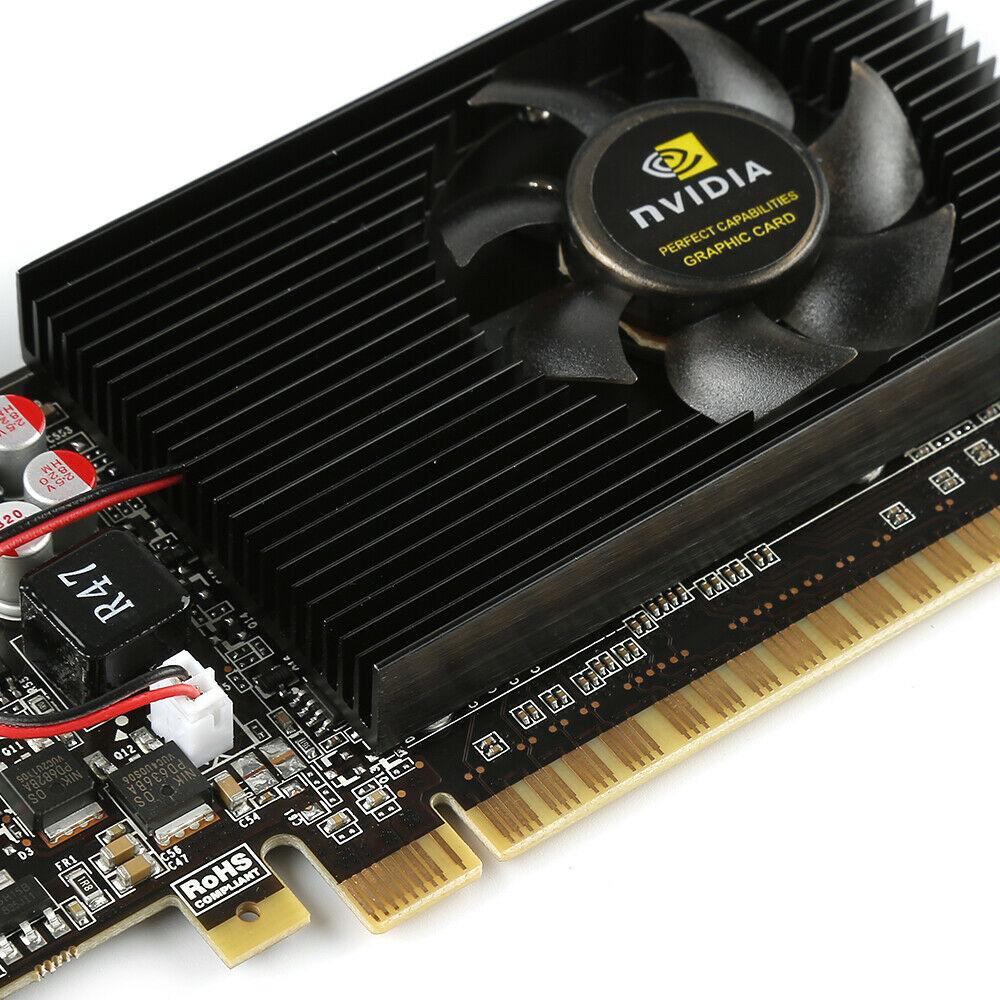 GT730 2GB DDR3 DVI VGA HDMI PCI-E Low Profile Graphics Card