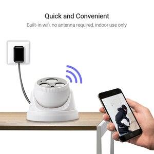Image 2 - Hamrolte Camera Wifi Yoosee Siêu Nét HD 1080P Có Dây Trong Nhà Wirless Onvif IP Nội Bộ Micophone Phát Hiện Chuyển Động Với Thẻ Nhớ SD khe Cắm