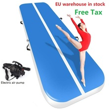 Gymnastics-Mattress Air-Track Inflatable-Toys Electronic-Pump Tumbling 7M/8M