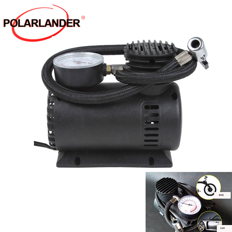 Air Compressor 12V 90W 300 PSI Auto Pump Electric Car Tyre With 3 Pneumatic Nozzle Car Tire Inflator