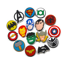 De Avengers Endgame Superhero Pin Badges Voor Rugzak Captain American Iron Man Batman Diy Pins Badge Broches Voor Vrouwen Kids(China)