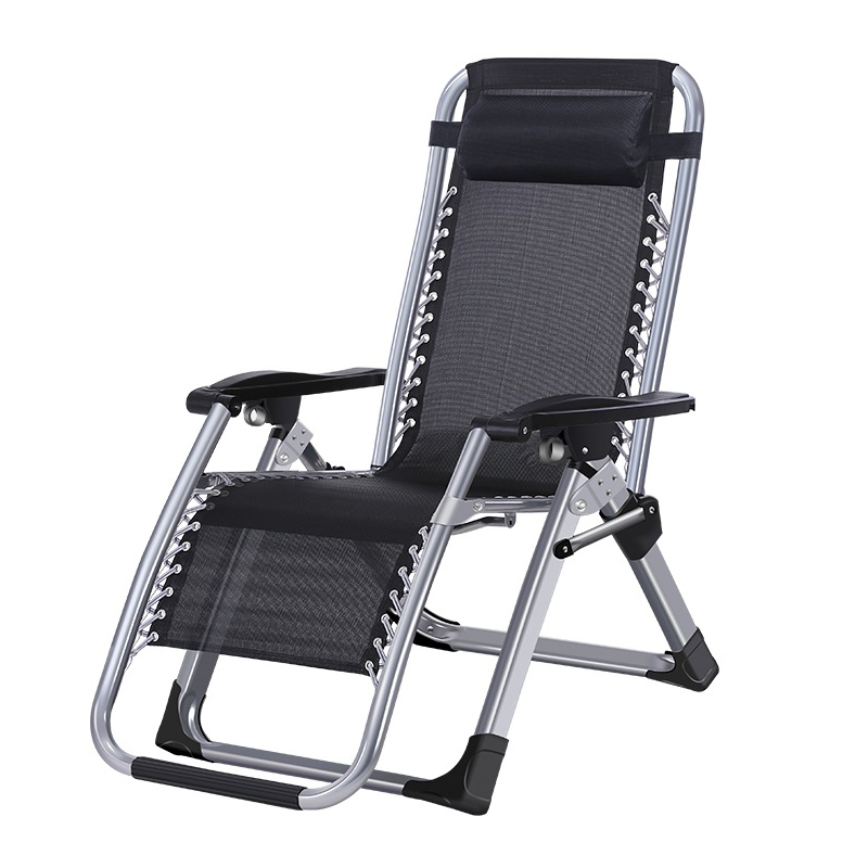 New European Large Armchair Outdoor Lounge Chair Fishing  Portable Beach Folding  Backrest Stool