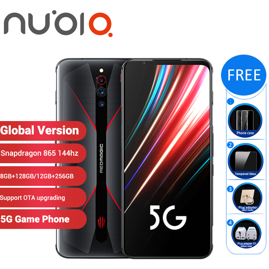 "Global Version Nubia Red Magic 5G Gaming SmartPhone 12GB 256GB/8GB 128GB 6.65"" Snapdragon 865 NFC Redmagic 5G Game Mobible Phone(China)"