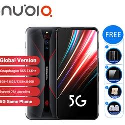Globale Versione Nubia Magia Rossa 5G Gaming SmartPhone 12GB 256GB/8GB 128GB 6.65 snapdragon 865 NFC Redmagic 5G Gioco Mobible Phone
