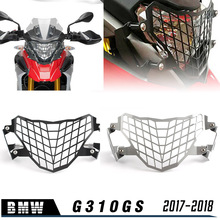 G 310 GS Front Headlight Grille Guard Cover Protector Black Silver Fit For BMW G310GS 310GS 2017 2018 2019