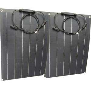 Image 1 - China ETFE flexible solar panel 40w semi flexible solar panel mono solarzelle 18V ETFE Beschichtung panel ladegerät 12V solar ladegerät