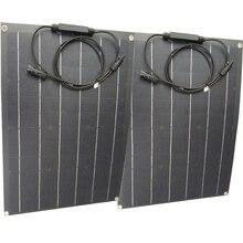 Cina ETFE flessibile pannello solare 40w semi flessibile pannello solare mono cella solare 18V ETFE pannello di Rivestimento caricatore 12V caricatore solare