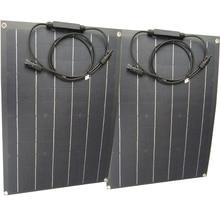 סין ETFE גמיש פנל סולארי 40w חצי גמיש פנל סולארי מונו תאים סולריים 18V ETFE ציפוי פנל מטען 12V מטען סולארי