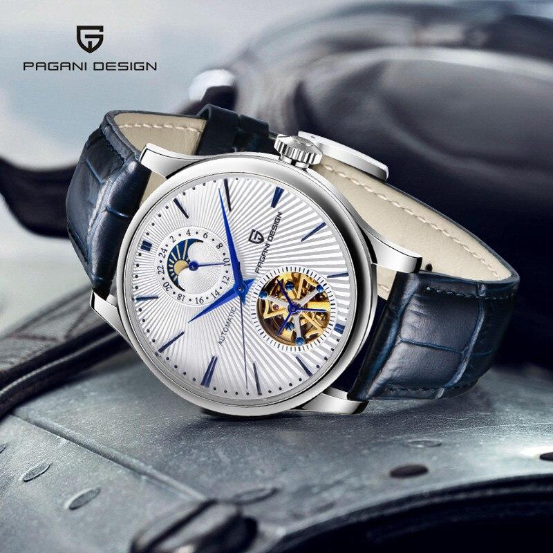 PAGANI Design Top Brand Luxury Mens Watches Automatic Watch Men Stainless Steel Waterproof Fashion Sport Mechanical Wristwatch