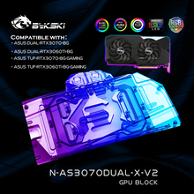 Water-Cooling-Block Liquid-Cooler Graphics-Card 3070 Gpu Bykski ASUS for VGA 12V/5V ARGB