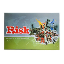 Jogo de tabuleiro risico/risco jogos de mesa 2-6 jogadores 30min versão em inglês