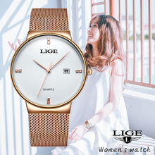 Reloj Mujer 2020 LIGE Women Watches Fash