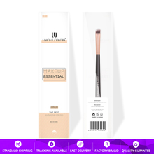 U211 Contour brush Concealer Blending or Eye layering Brow Rose gold ferrule wooden handle Makeup brushes