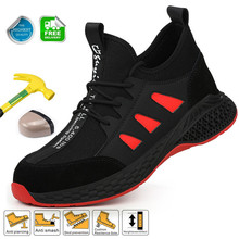 Work Steel Toe Shoes For Men Safety Work Shoes