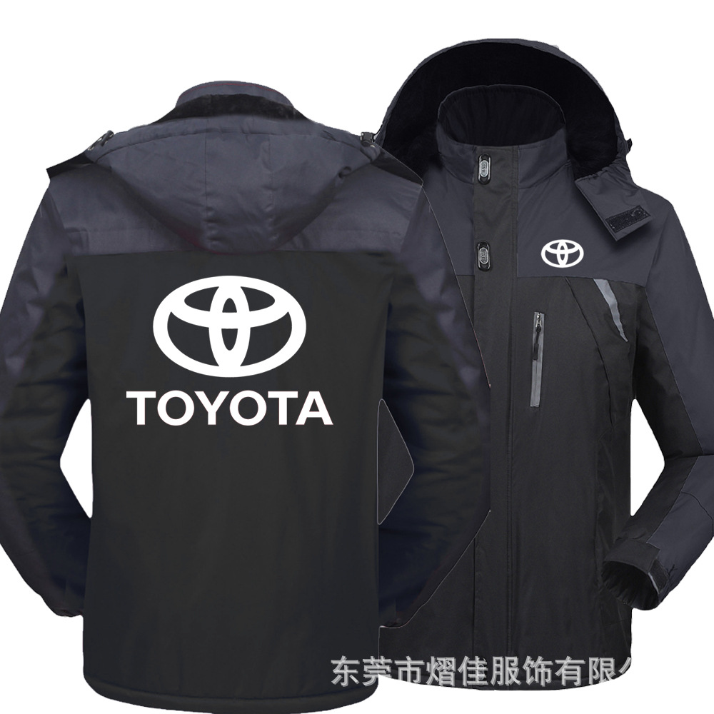 Toyota Jacket Harajuku High-Quality Fashion Casual Print Jersey Car-Logo Cycling Digital