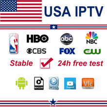 IPTV USA M3U Subscription American Netherland Spain HBO CBS ABC NBC FOX PPV NBA with XXX for IPTV Smarters Pro Smart TV Box IOS(China)