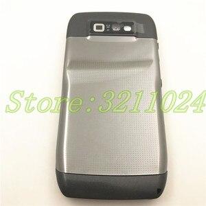 Image 4 - نوعية جيدة الأصلي الكامل كاملة الهاتف المحمول بطارية مبيت غطاء لعلامة نوكيا E71 + لوحة المفاتيح الإنجليزية + شعار