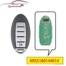 Qwmend kr5s180144014 5 кнопок умный Автомобильный ключ для nissan