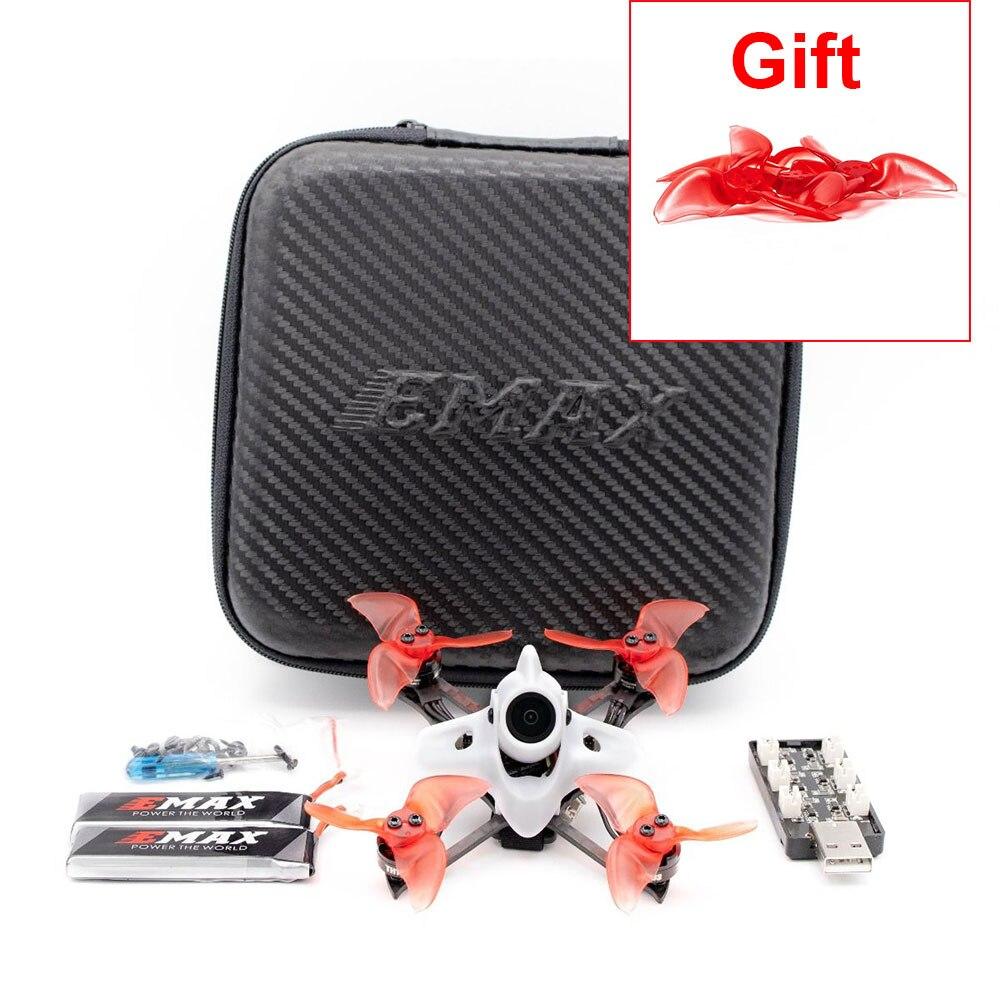 Emax Tinyhawk II  Race BNF FPV Racing Drone F4 5A 7500KV RunCam Nano2 700TVL 37CH 25/100/200mW VTX 2S With Gift