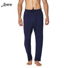 Pajamas Plus-Size Pants Sleepwears Modal Male Loose Men Soild
