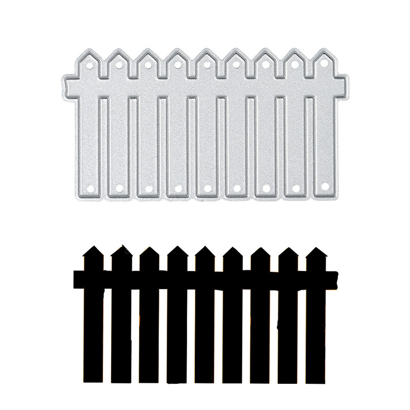 YaMinSanNiO  Fence Frame Wedding Metal Cutting Dies For Scrapbooking Craft Dies New 2019 Embossing Stencil Card Decoration Dies