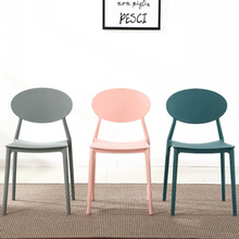 Modern home PP plastic dining chair China injection molding process dining chairs for dining rooms restaurant furniture kitchen