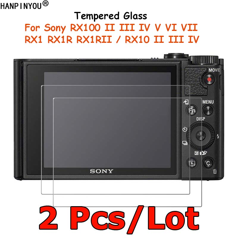 2 Pcs For Sony DSC-RX100 V VI VII RX10 RX1R II III IV RX1 RX1RII M2 M3 M4 Tempered Glass Screen Protector Protective Film Guard