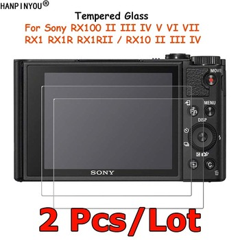 2 Pcs For Sony DSC-RX100 V VI VII RX10 RX1R II III IV RX1 RX1RII M2 M3 M4 Tempered Glass Screen Protector Protective Film Guard image