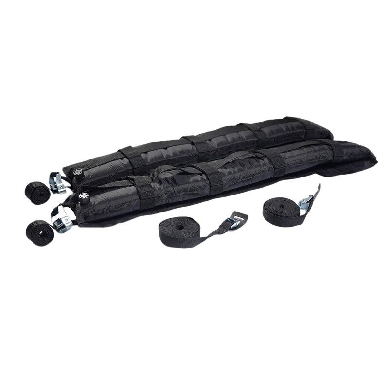 Universal Self Inflatable Roof Racks Luggage Carrier 180 LB Capacity for Snowboard Rack Ski Rack Travel