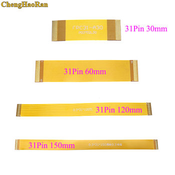 ChengHaoRan 1pcs Forward Direction 31 Pin FFC FPC Flexible Flat Cable Pitch 0.3mm Same Direction length 28mm-150mm цена 2017