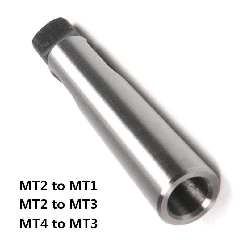 1pcs  Taper  Sleeve  Adapter  Morse MT2 To MT1 MT2 To MT3 MT3 To MT4 Taper Adapter Morse Drill Sleeve Reducer