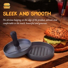 High Quality Round Burger Press Aluminum Alloy Burger Meat Beef Grill Food Mold Making Manual Non-stick Coating
