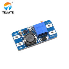 1PCS DC-DC Rise-voltage Module 2A Board Input 2-24Vl To 5/9/12 To 28V Adjustable To 2577
