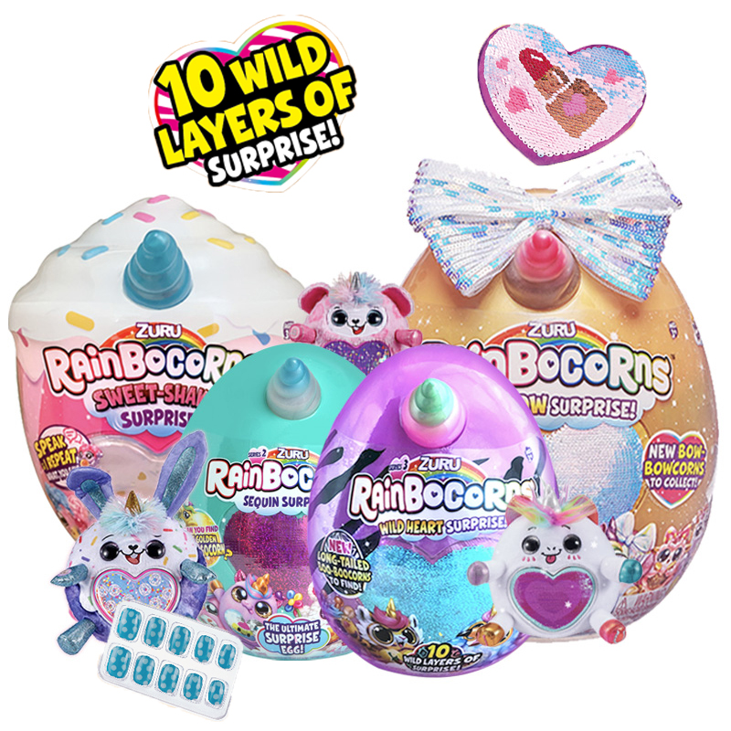 Rainbocorns Wild Heart Surprise Series 3 By Zuru Collectible Anime Figure Toys Birthday Surprise Series Kids Gift