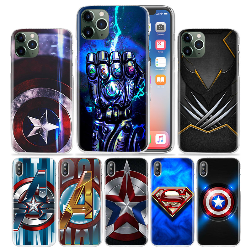 coque iphone 8 shield marvel