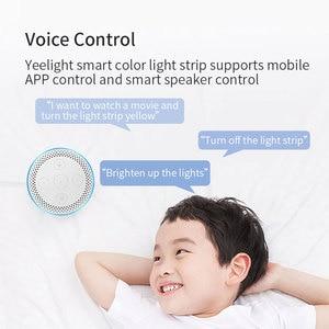 Image 2 - Yeelight Aurora LED Light Strip Plus Smart Wifi supporto Xiaomi Mi Home Apple Homekit Amazon Alexa Google Assistant voice control