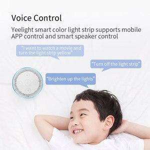 Image 2 - Yeelight Aurora taśma świetlna LED Plus inteligentne wsparcie Wifi Xiaomi Mi Home Apple Homekit Amazon Alexa asystent Google sterowanie głosowe
