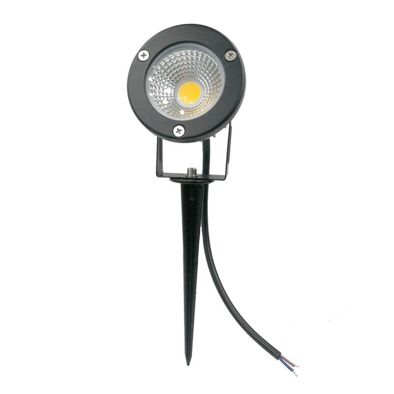 Free Shipping Garden Spike Light 3W 5W 10W 12W Led Outdoor Garden Light  Choose IP67 Waterproof Connector For Garden Lighting