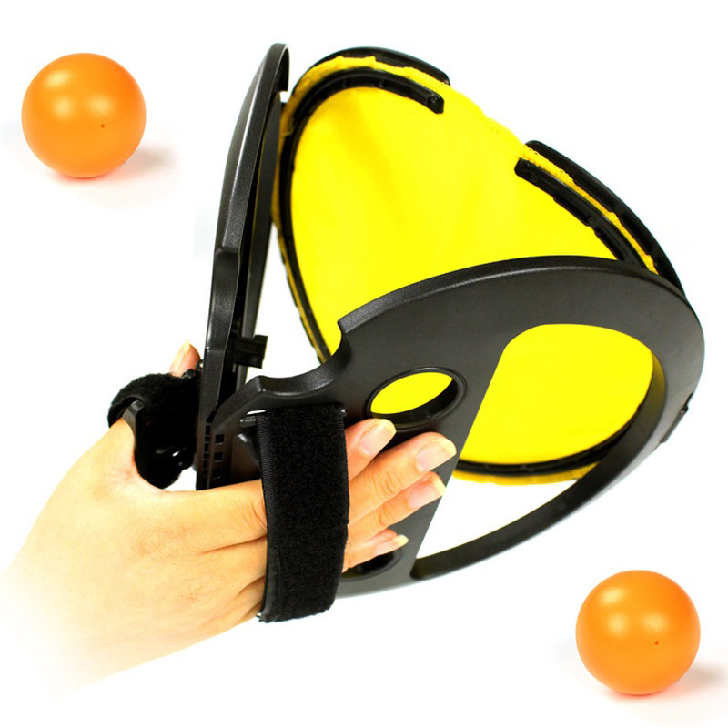 Hand Throw Catch Ball Interactive Toys Sport Outdoor Games Sensory Play Stress Relief For Kids Children Adult Office Fun